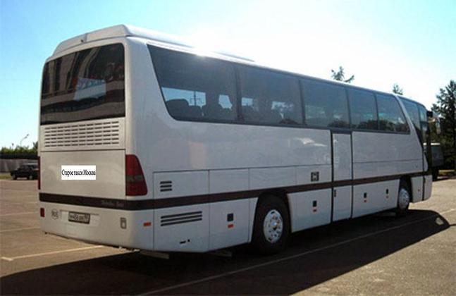 автобус такси Mercedes Benz 0350 902 заказ по москве в аэропорт